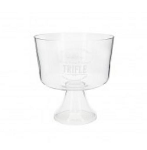 Glass TrifleBowl W/Print 20.5x22cmH(4/4)