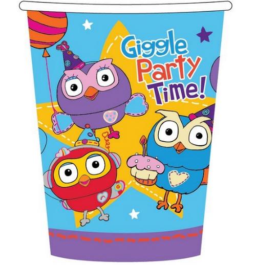 Giggle & Hoot 9oz/266ml Cups