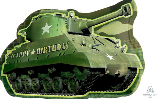SS XL Army Tank BDAY P30