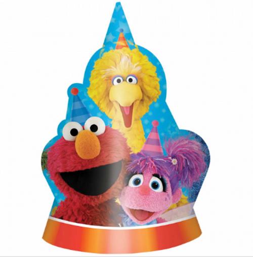 Sesame Street Shaped Cardb Hat