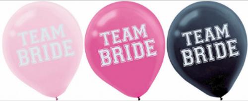 Team Bride 30cm Ltx Bln