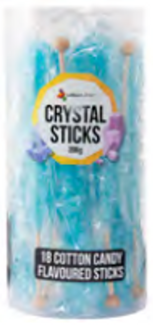 Crystal Sticks Bby Blue 18ct