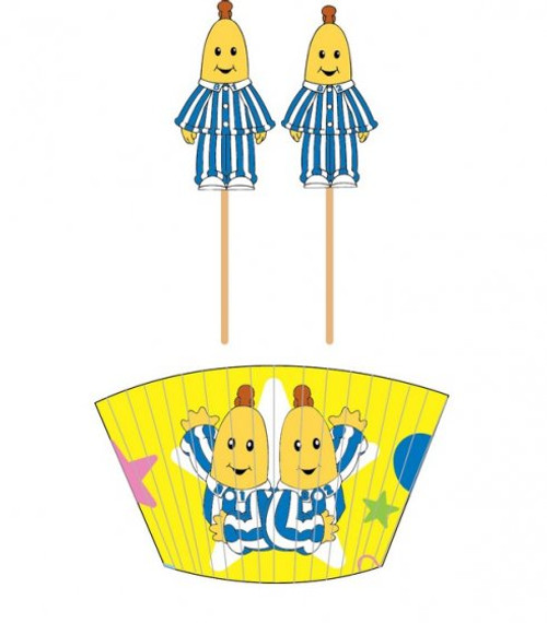 Bananas in Pyjamas Cupcake Cas