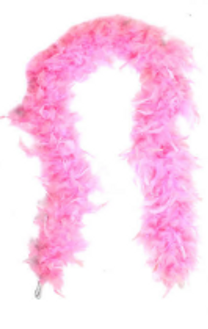 Feather Boa (Light Pink)