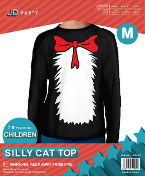 Children Silly Cat Top (M)