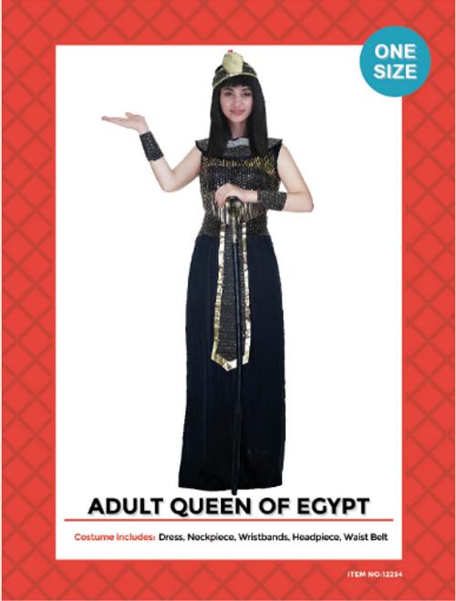 Adult Egyptian Queen Costume (Black)