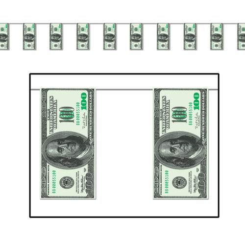 Pnt Bnr One Hundred Dollar Bil