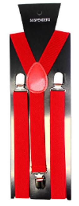 Suspender (Plain) (Red)