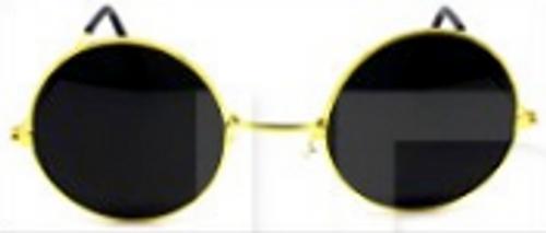 Party Glasses Hippie (S) (Black)