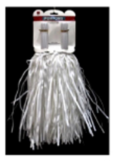 Metallic Pom Pom (White)