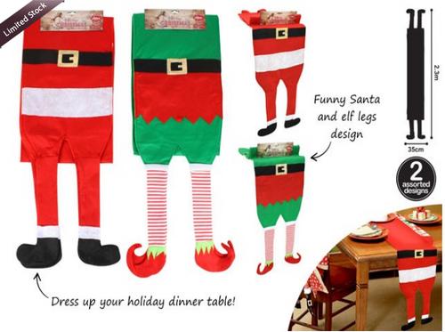 FELT TABLE RUNNER WITH LEGS