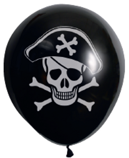 Balloon 10Pk Prntd Pirate