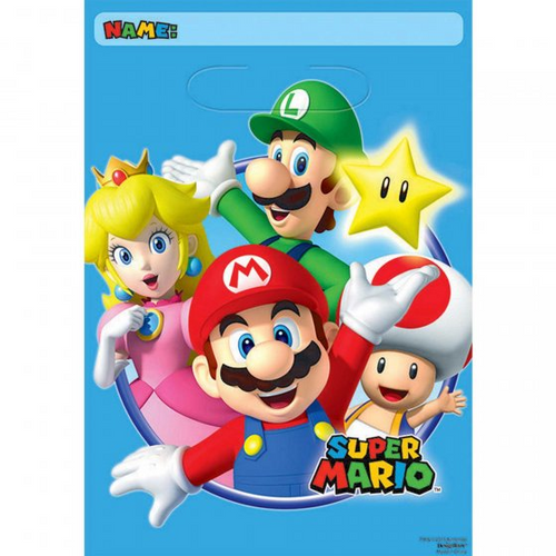 Super Mario Brothers Folded Lootbag