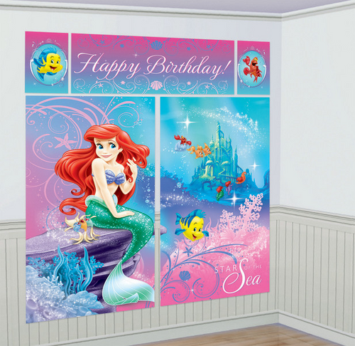 The Little Mermaid Wall Decorating Kit