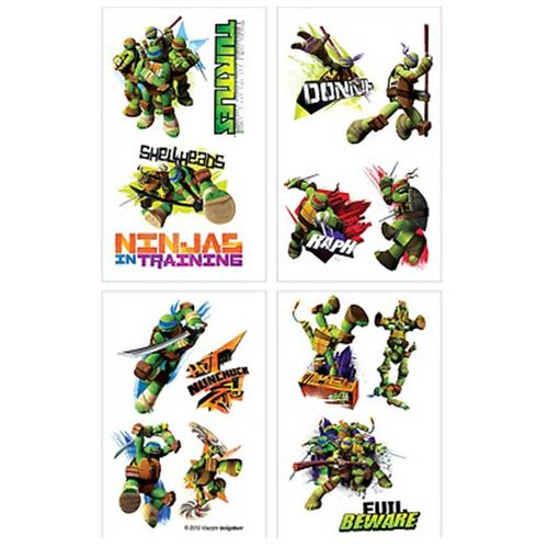 Teenage Mutant Ninja Turtles 8 tattoos