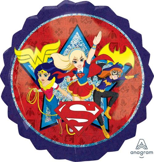 Superhero Girls Foil Balloon
