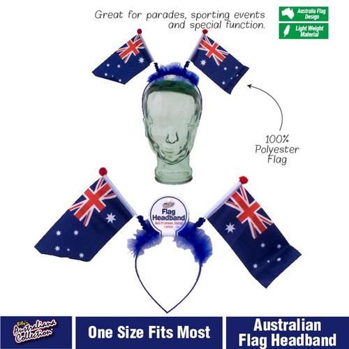 Headband Australia Flag