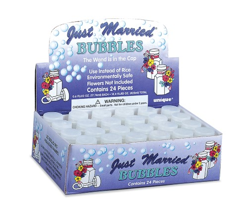24 Just Married Bubbles 95231