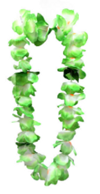 Hawaiin lei green