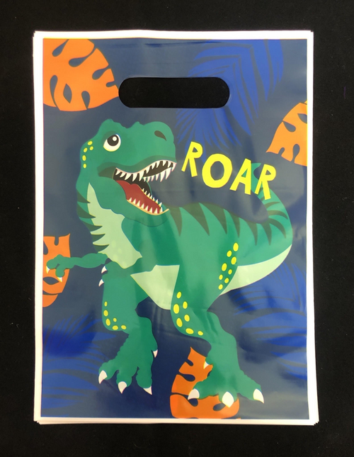 PARTY BAG 8PK DINOSAUR