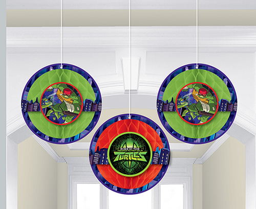 Rise of the TMNT Hcomb Deco