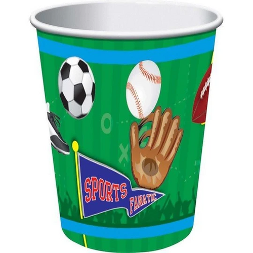 Sports Party VP 9oz/266ml Cups