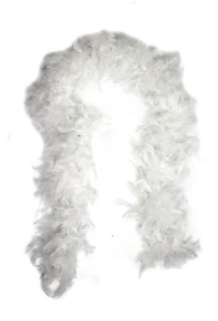 Feather Boa (White)