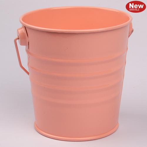 Coral Tin Bucket