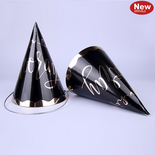 4pk Glam Party Hats