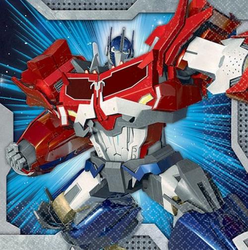 Transformers Core B/Napkin