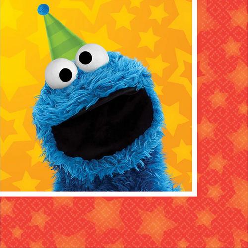 Sesame Street B/Napkin