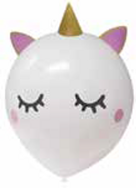 BALLOON DECORATN 2PK UNICORN
