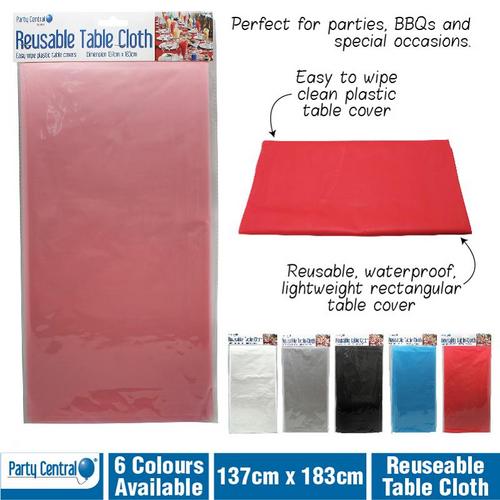 Table Cloth Reuseable 137x183cm