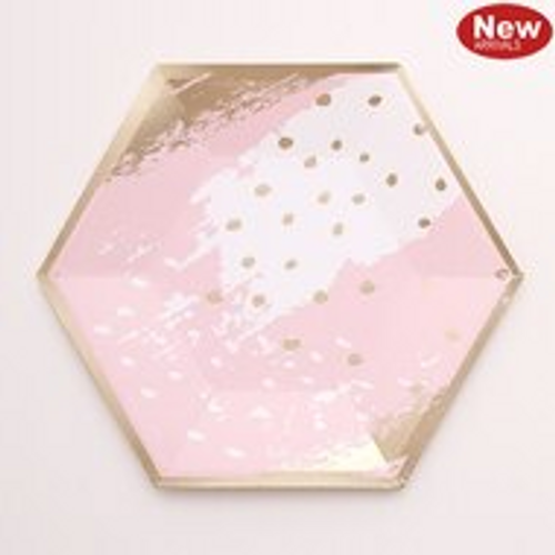 12PK 18CM COSMO PINK PAPER PLATE