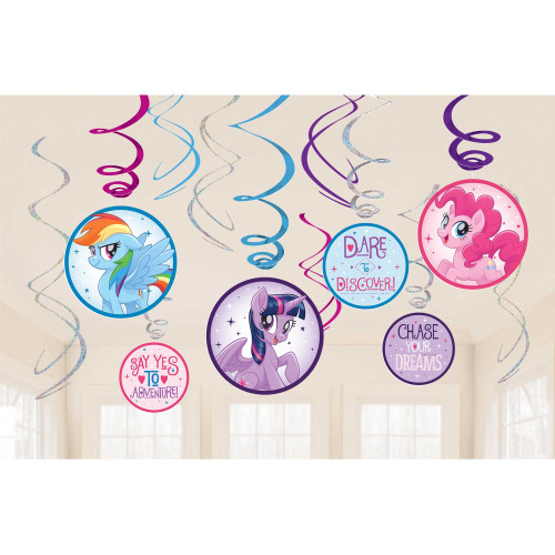 MLP Swirl Decorations