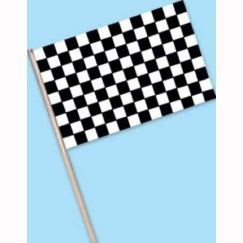 Checkered Flag Plas (10cm)
