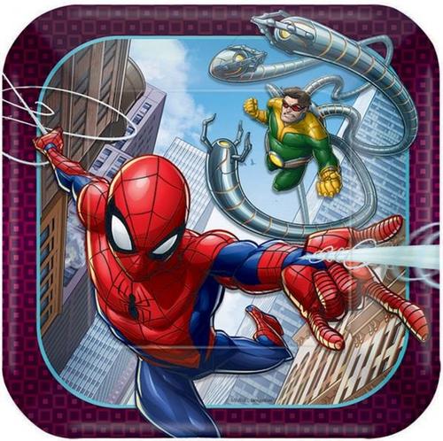 Spider-Man WW 7in/17cm Squ Pla