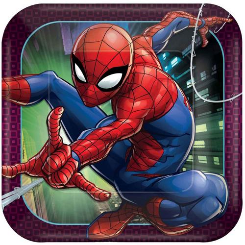 Spider-Man WW 9in/23cm Squ Pla