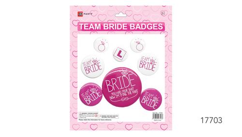 Party Badges (Hens Set Badges)