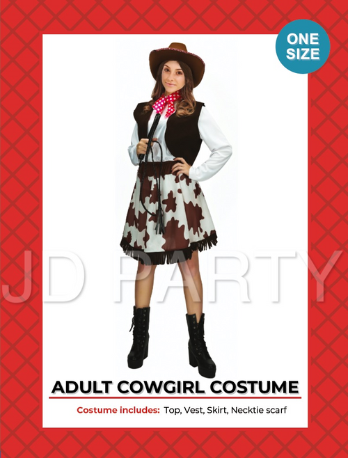 Adult Cowgirl Costume (A0069)