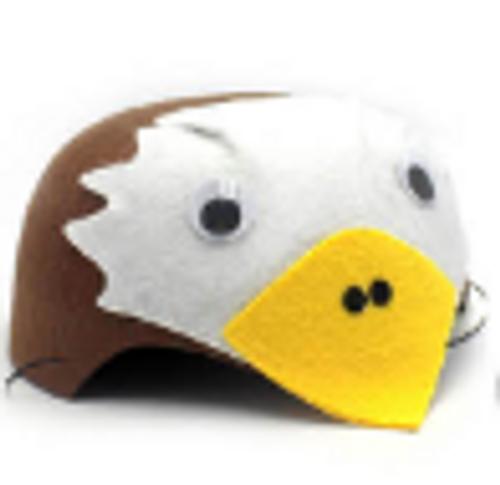 Animal Hat (S) (Hawk)