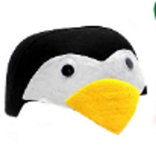Animal Hat (S) (Penguin)