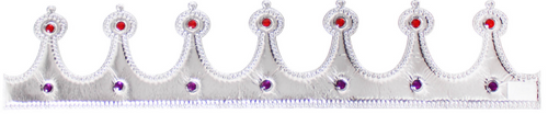 Fabric Crown (Silver)