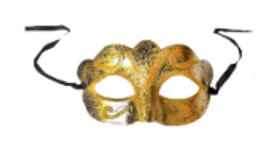Fancy Glitter Mask (Gold)