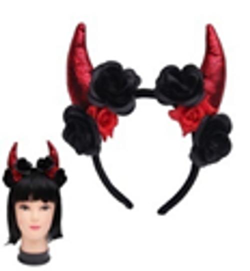 DOTD DEVILS HORN HEADBAND