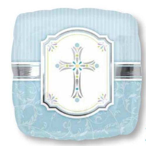 STD XL Communion Blessing Blue S40