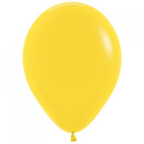 DECROTEX 12cm FASH YELLOW (per balloon)