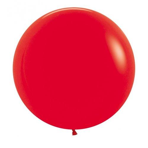 D/TEX 60CM FASH RED P3 (per ballooon)