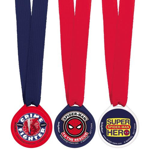 Spider-Man WW Award Medals