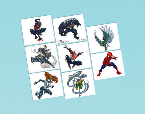 Spider-Man WW Tattoo Fav